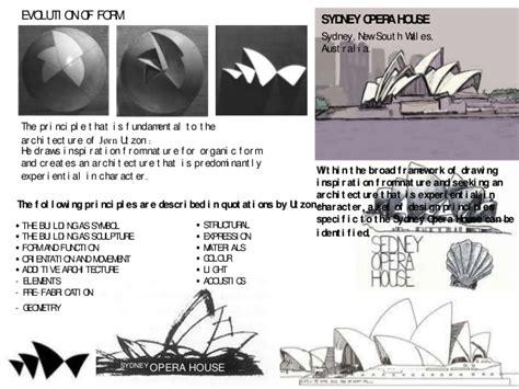 house layout design principles sydney opera house utzon design principles house design