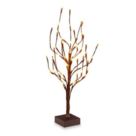 lighted tree buy home decor lighted tree from bed bath beyond