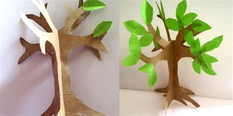 easy to make tree how to make an easy paper craft tree imagine forest