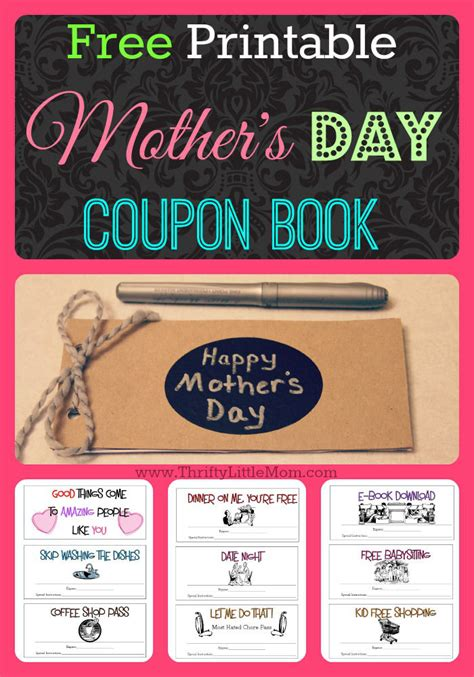 mothers day picture books free printable s day coupons 187 thrifty