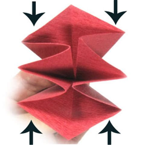 origami poinsettia flower how to make an origami poinsettia flower page 2
