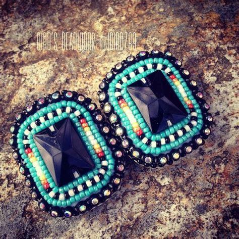 beaded powwow earrings 1000 images about powwow on beadwork beaded
