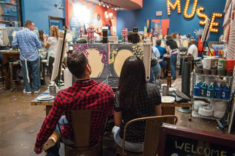muse paintbar schedule sassy in sequins boston lifestyle travel