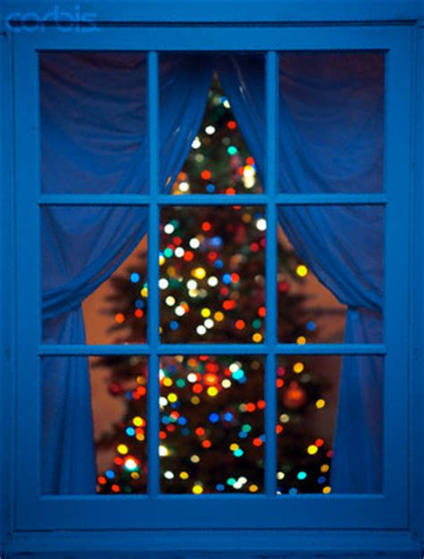 window tree with lights thinking on these things the and