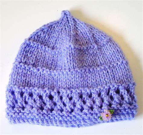 newborn knit hat pattern newborn hats tag hats
