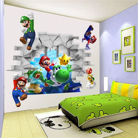 Cheap Wall Murals Wallpaper popular mario wall mural buy cheap mario wall mural lots