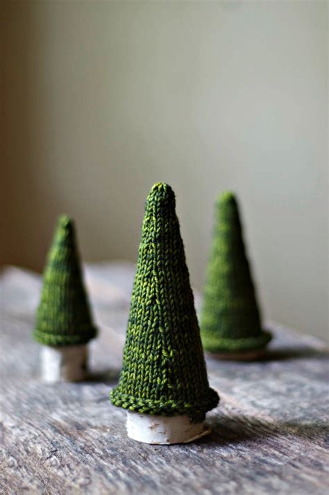 how to knit a tree knitting pattern pine tree knit by