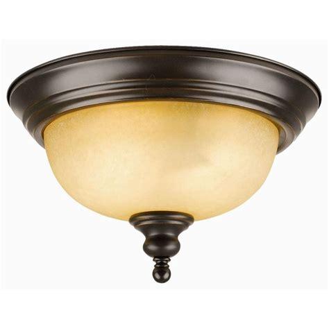 home depot ceiling lights design house bristol 2 light rubbed bronze ceiling