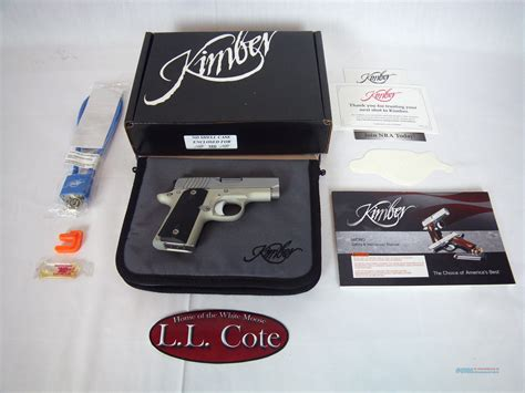 rubber sts of america kimber micro carry sts 380acp 2 3 4 quot stainless nib 330
