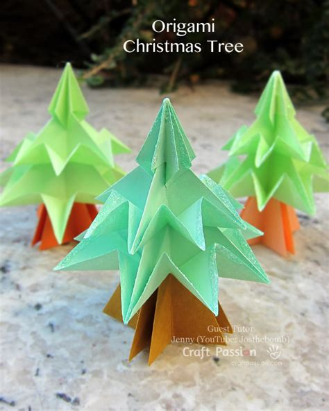 how to make a tree origami tree origami craft free patterns