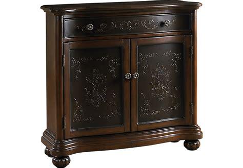 nichola brown accent cabinet accent cabinets dark wood