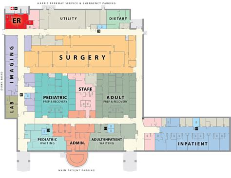 floor plan of a hospital request basic modern day hospital floorplan map battlemaps