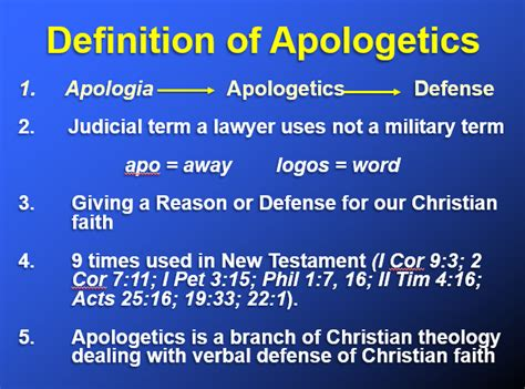 christian meaning what is christian apologetics