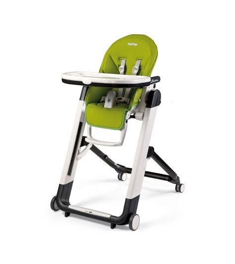 peg perego siesta high chair mela apple green