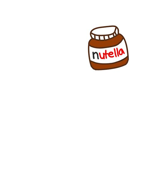 Posters Home Decor by Quot Cute Nutella Pattern Quot Stickers By Deathspell