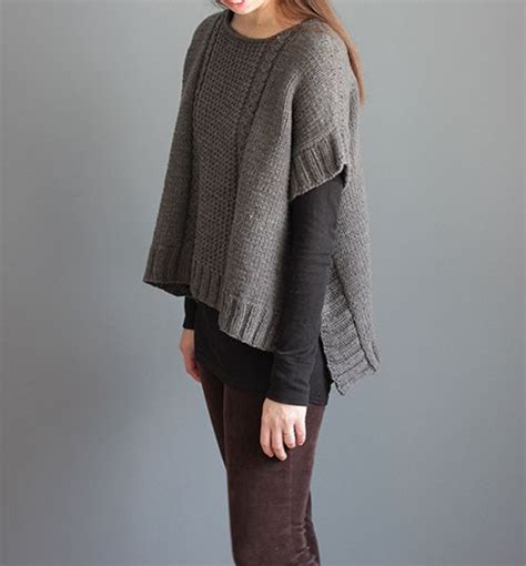 knitted poncho patterns for 25 best ideas about poncho knitting patterns on