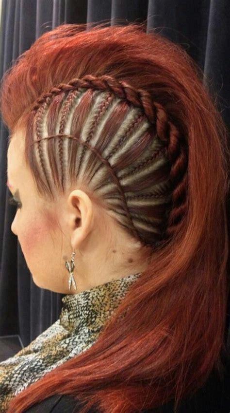 braided mohawk with braided mohawk braids twists awesome