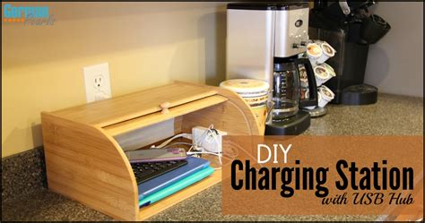 diy charging station diy charging station organizer with usb hub german pearls