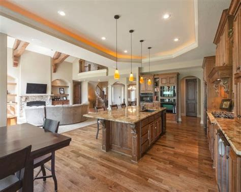 open floor kitchen designs kitchen tray ceiling design ideas remodel pictures houzz