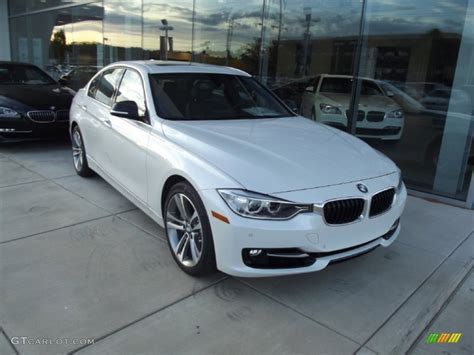 Mineral White Bmw by Mineral White Metallic 2013 Bmw 3 Series Activehybrid 3