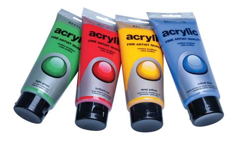 acrylic paint reeves products craft materials stationery office