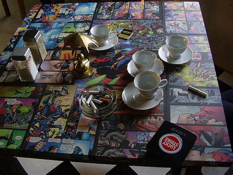 comic book decoupage 15 awesome diy comic book themed projects