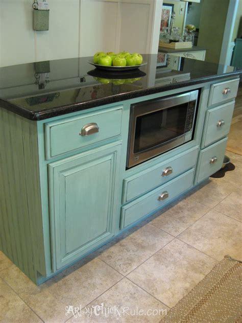 chalk paint kitchen cabinets duck egg kitchen island makeover duck egg blue chalk paint
