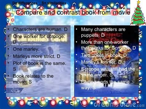 compare and contrast picture books compare and contrast book from book