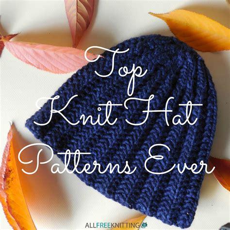 all free knitting 12 top knit hat patterns allfreeknitting