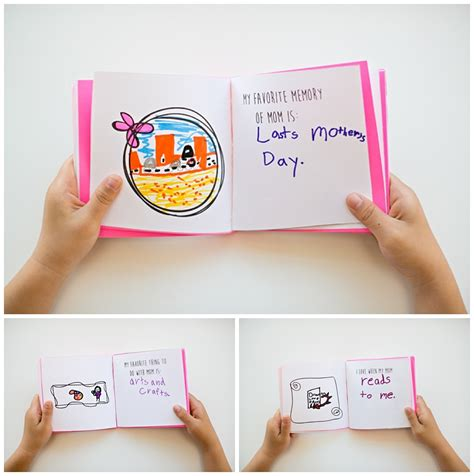 mothers day picture books hello wonderful kid made free printable s day book