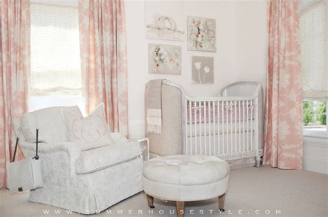 pink nursery curtains pink nursery curtains nursery summer house style