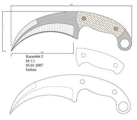 modelo 95 facas knife em escala 1 1 pinterest