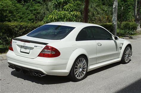 2008 Mercedes Clk63 Amg Black Series by 2008 Clk63 Amg Black Series 9k White Mbworld
