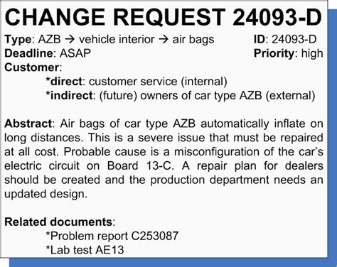 Car Modification Engineering Certificate by Change Request