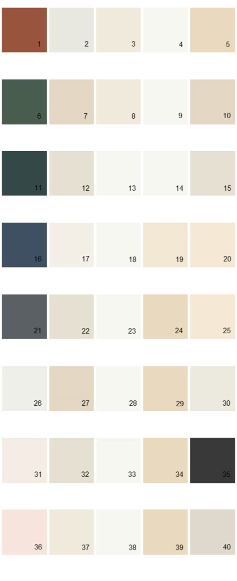 behr exterior paint color palette behr paint colors palette 04 house paint colors