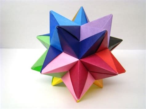 modular origami modular origami multicolored by origami