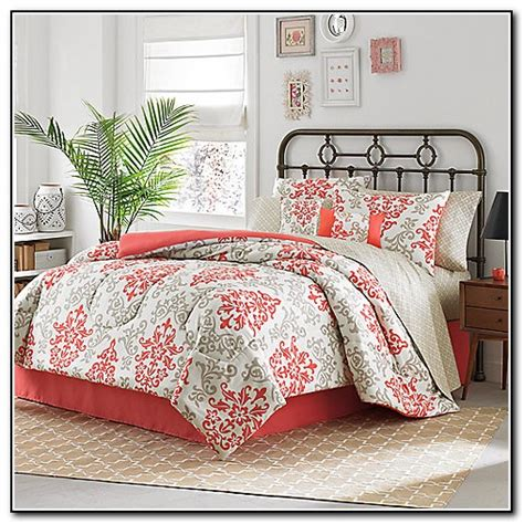 coral color crib bedding coral colored bedding sets beds home design ideas