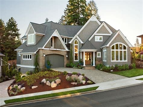 exterior landscaping awesome landscaping western style house exterior designs