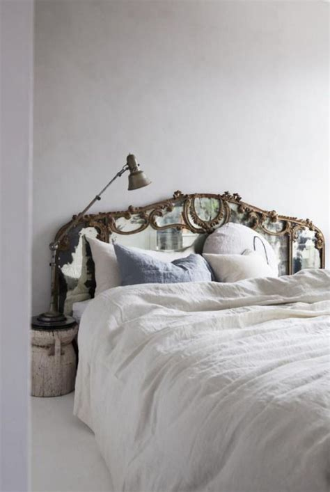 mirror as headboard picture of antique mirror headboard