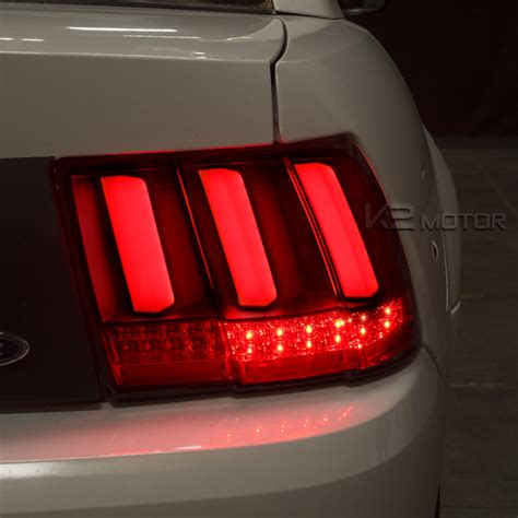 sequential lights 1999 2004 ford mustang led sequential black lights