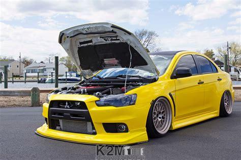 Car Evolution Wallpaper by Tuning Car Yellow Cars Mitsubishi Lancer Evo X