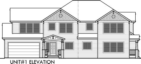 house drawing plan duplex house plans corner lot duplex house plans d 548