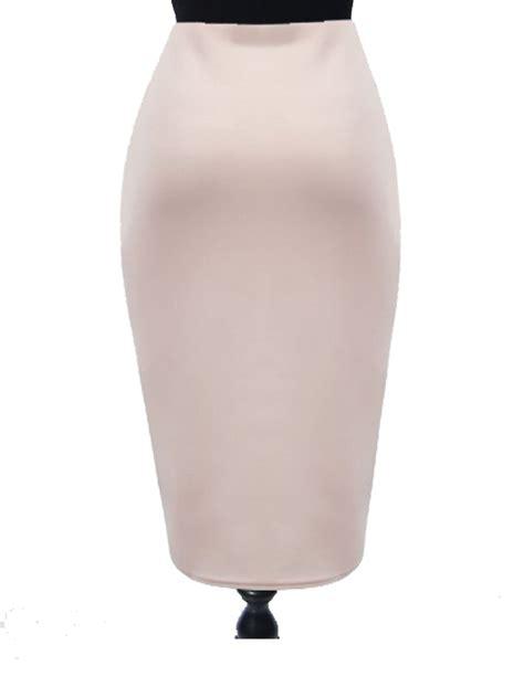 knit pencil skirt plus size ponte knit pencil skirt elizabeth s custom skirts
