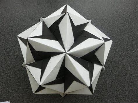 tadashi mori origami origami modular kusudama ciclone tadashi mori