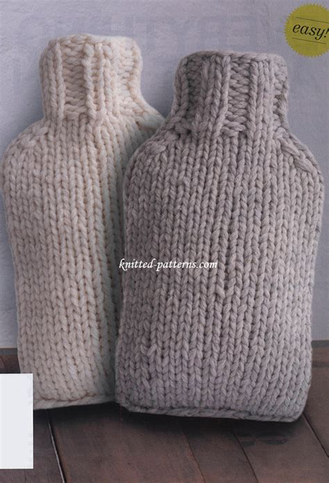 knitting pattern for water bottle water bottle covers