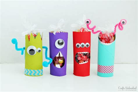 crafts toilet paper toilet paper roll crafts recycled treat holders