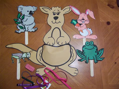 kangaroo crafts for boing boing a kangaroo jumping story recipes for reading