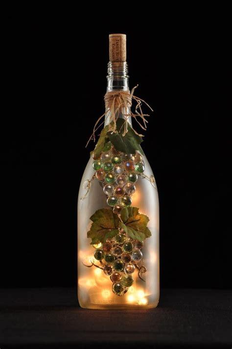 wine bottle craft projects best 25 lighted wine bottles ideas on wine