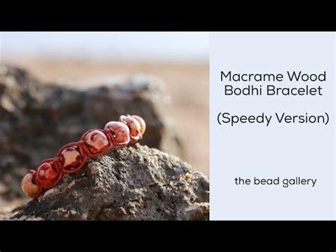 bead gallery honolulu wood macrame bodhi bracelet mini tutorial at the bead