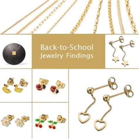 jewelry school back to school jewelry findings with pasternak findings